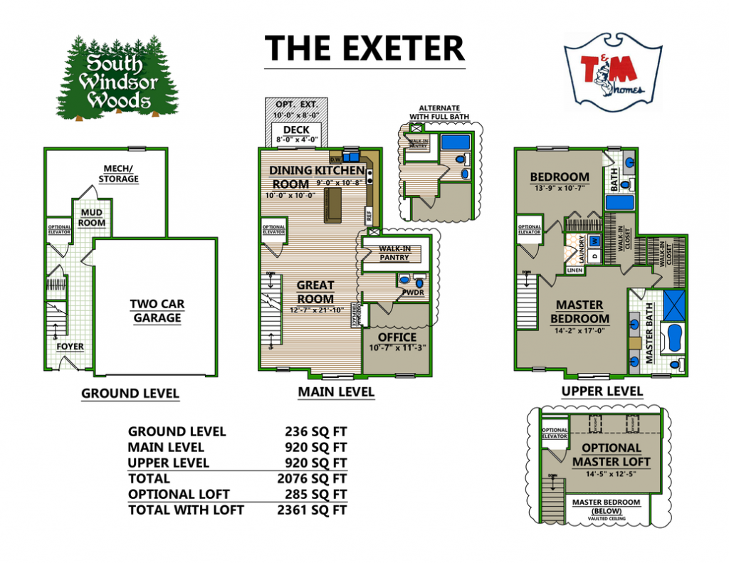 The Exeter - Layout